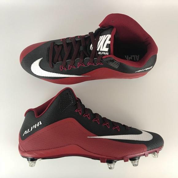 NEW Nike alpha detachable football cleats size 13 10cd2f09d